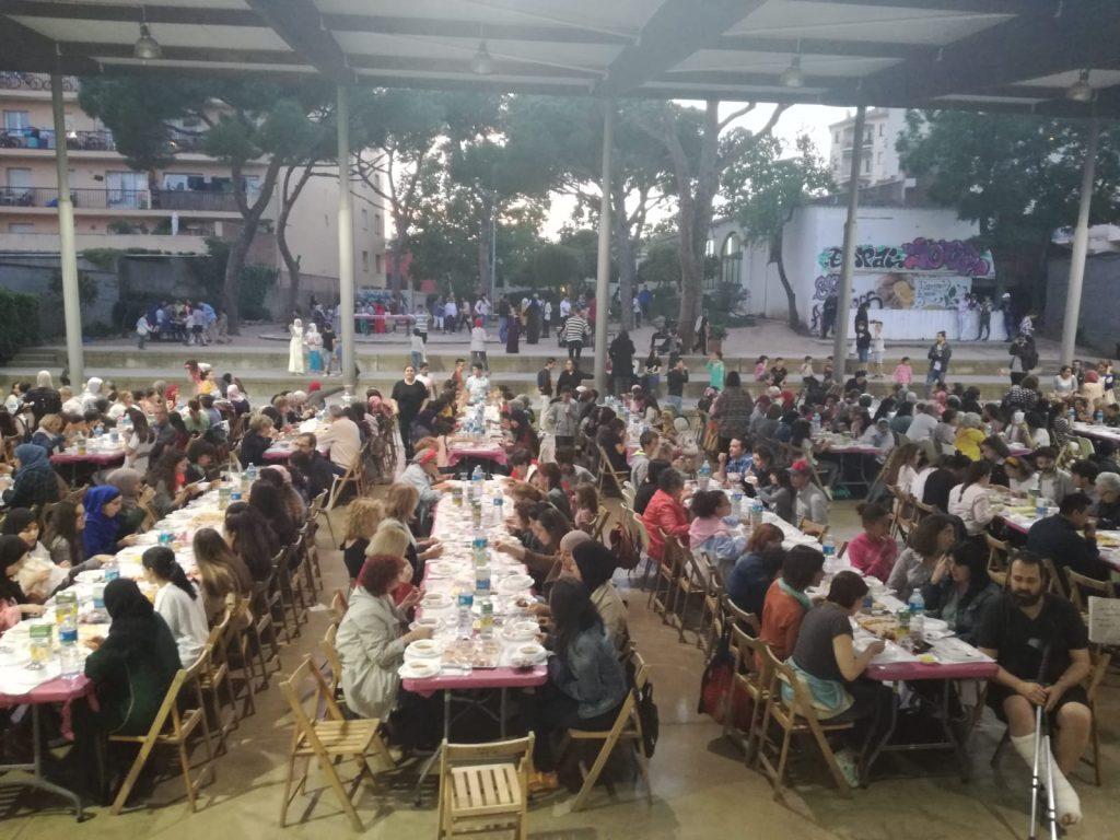 400 persones Iftar Popular Palafrugell