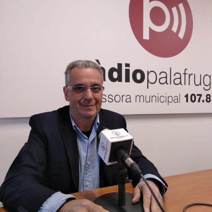 Josep Piferrer, alcalde de Palafrugell fa balanç del temporal