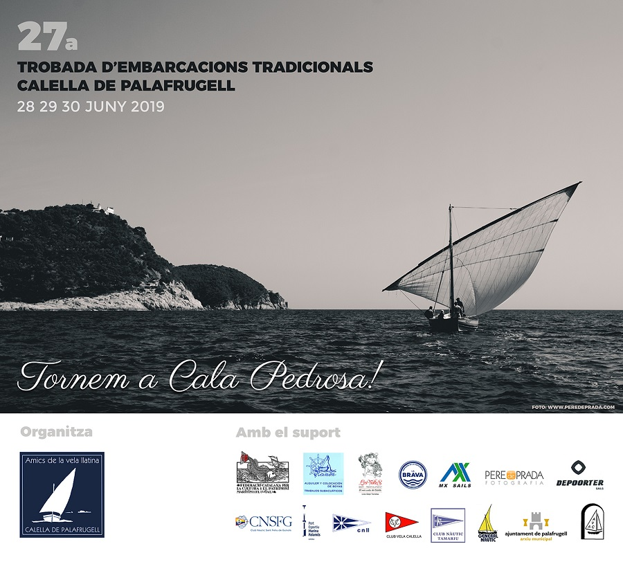 27a Trobada d'Embarcacions Tradicionals de Calella de Palafrugell