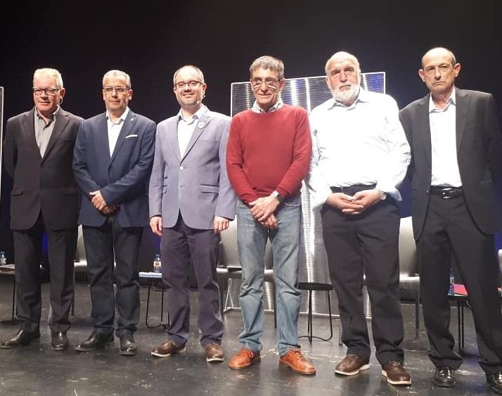 Josep Piferrer més a prop de l'alcaldia de Palafrugell