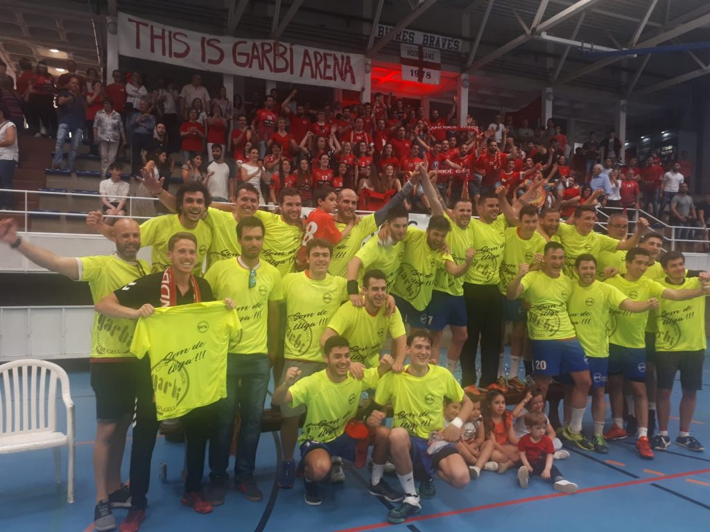 Handbol Garbí assoleix ascens a Lliga Catalana Garbí Arena