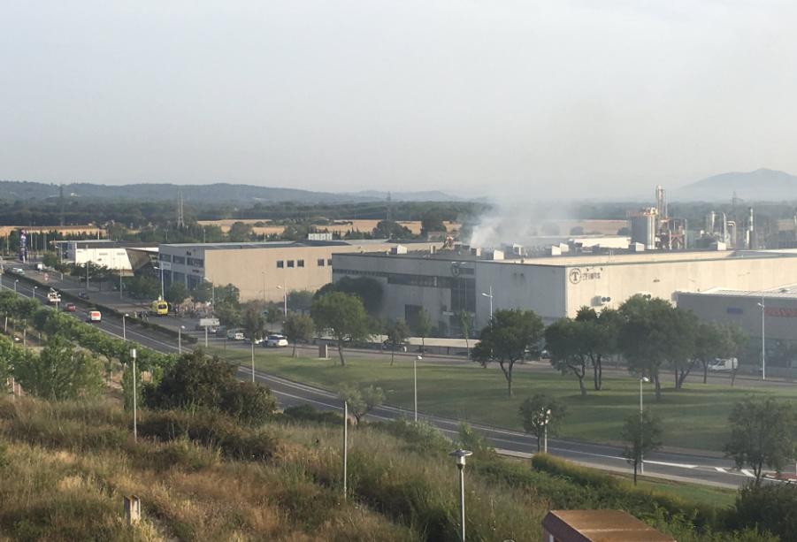Incendi a la surera Trefinos Palafrugell
