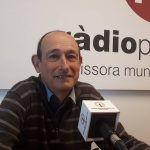 Primera entrevista de Joan Vigas com a 1r tinent d'alcalde de Palafrugell