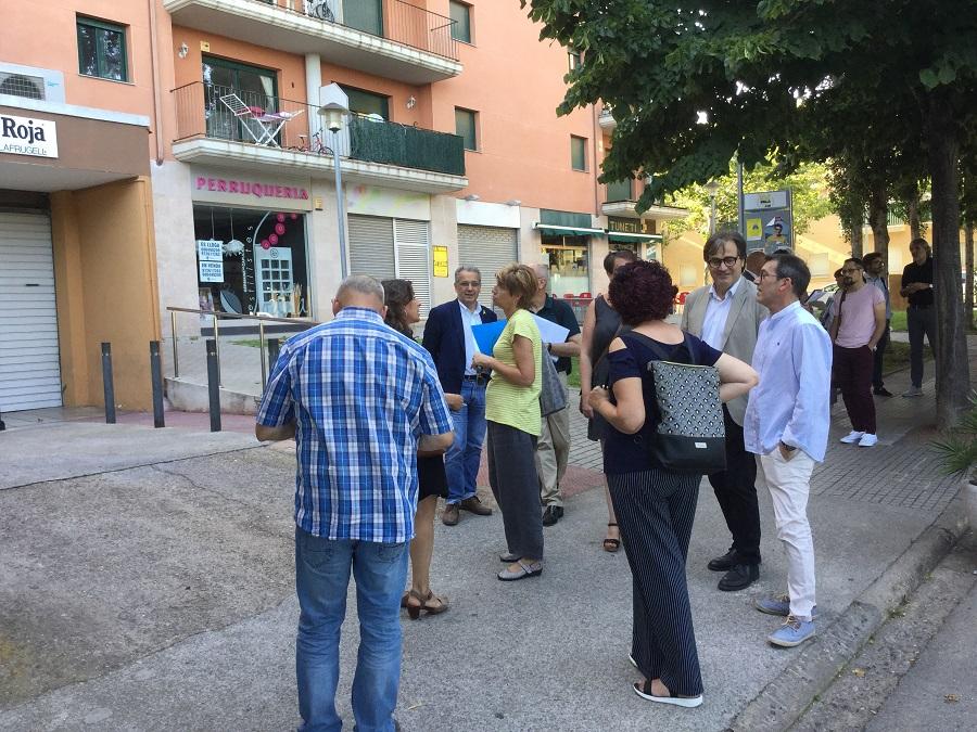 balanç del Pla de Barris Sauleda-carrer Ample.