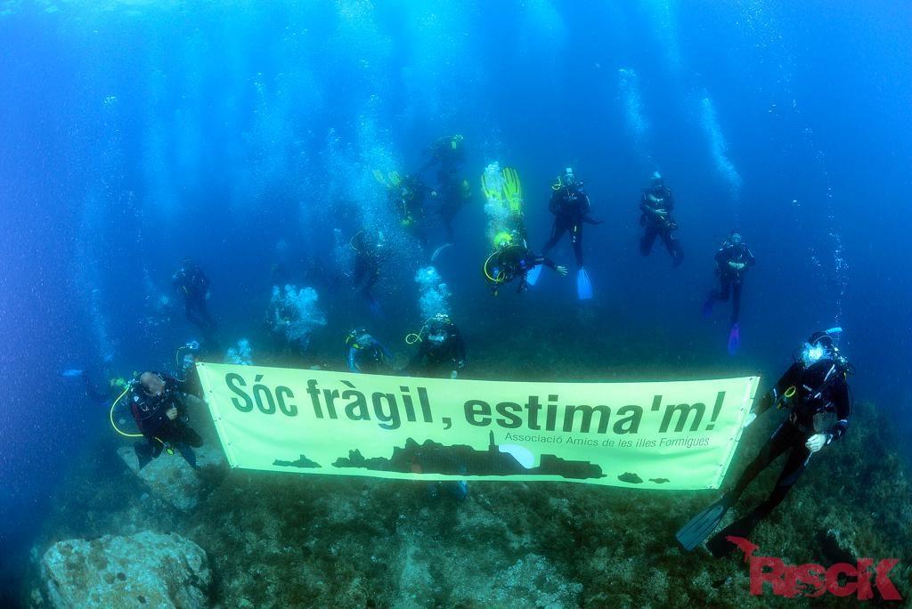 3a Manifestació Submarina a les Illes Formigues