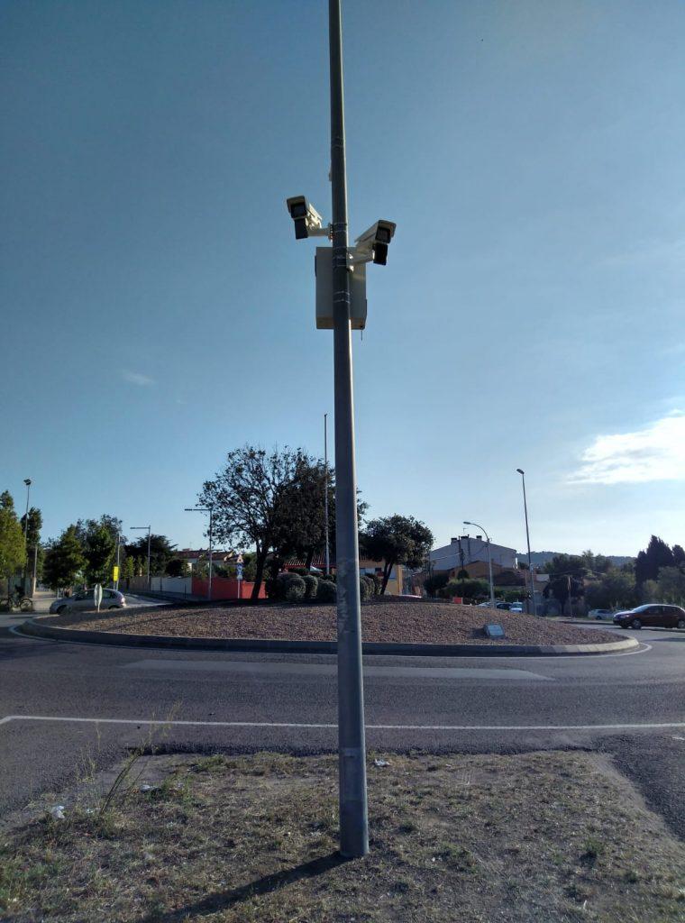 Palafrugell disposa de càmeres de control vehicles