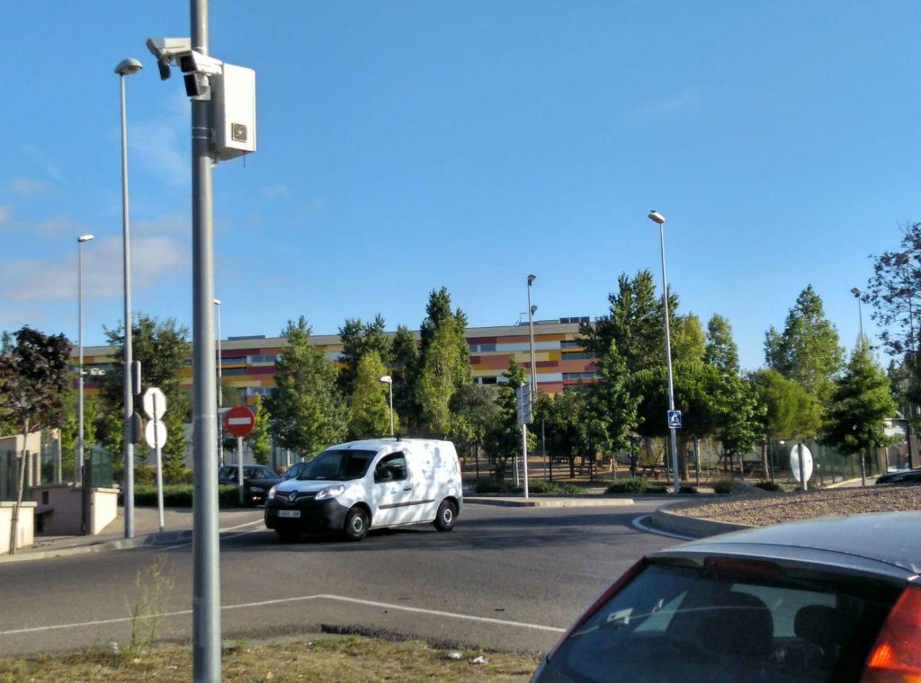Palafrugell disposa de càmeres de control de vehicles Floreal
