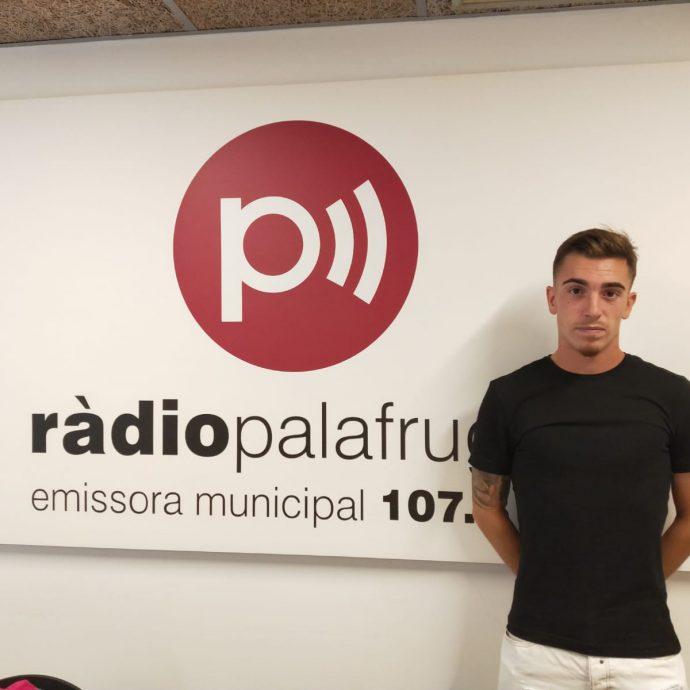 Raul Coloma entrenador del FC Palafrugell