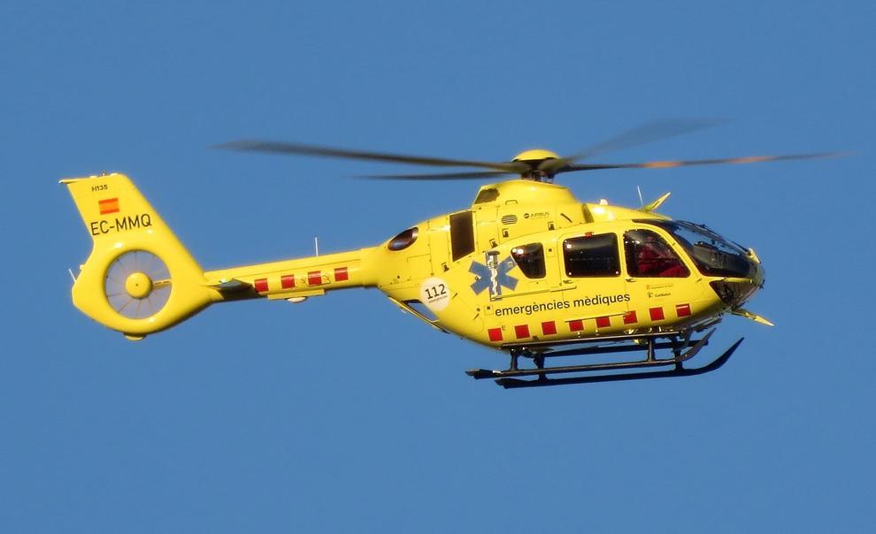 Rescaten un jove amb helicòpter a Tamariu