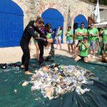 Prop de 50 quilos de residus a Llafranc i Port Pelegrí