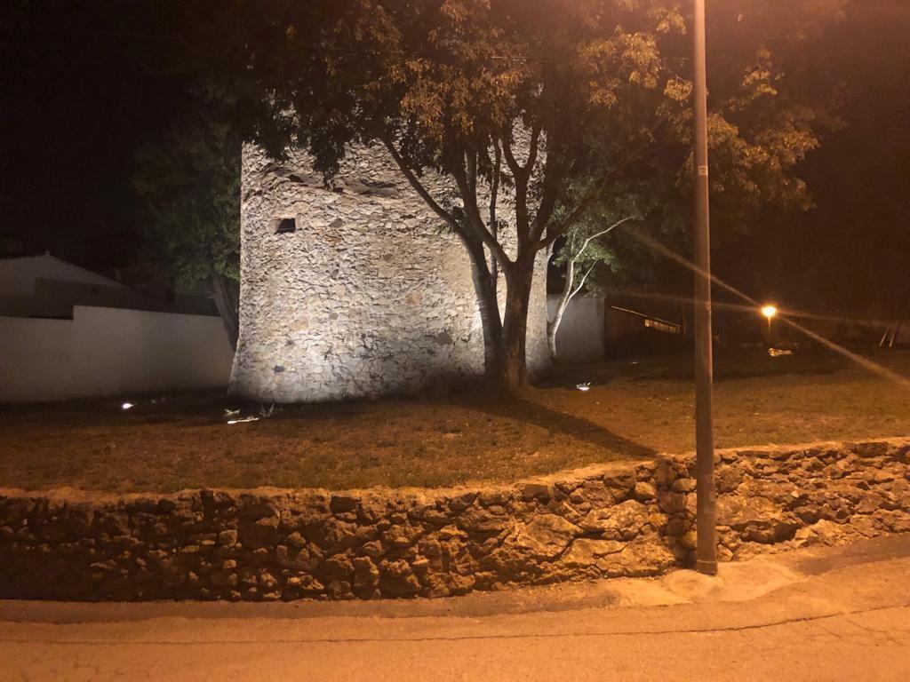 Nova il·luminació per a la Torre Vila-seca