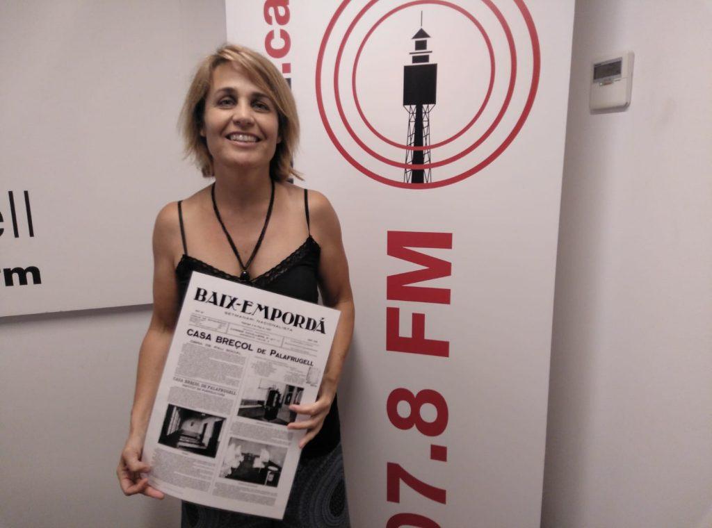 Arriba Trossets compartits amb Sandra Bisbe a Ràdio Palafrugell