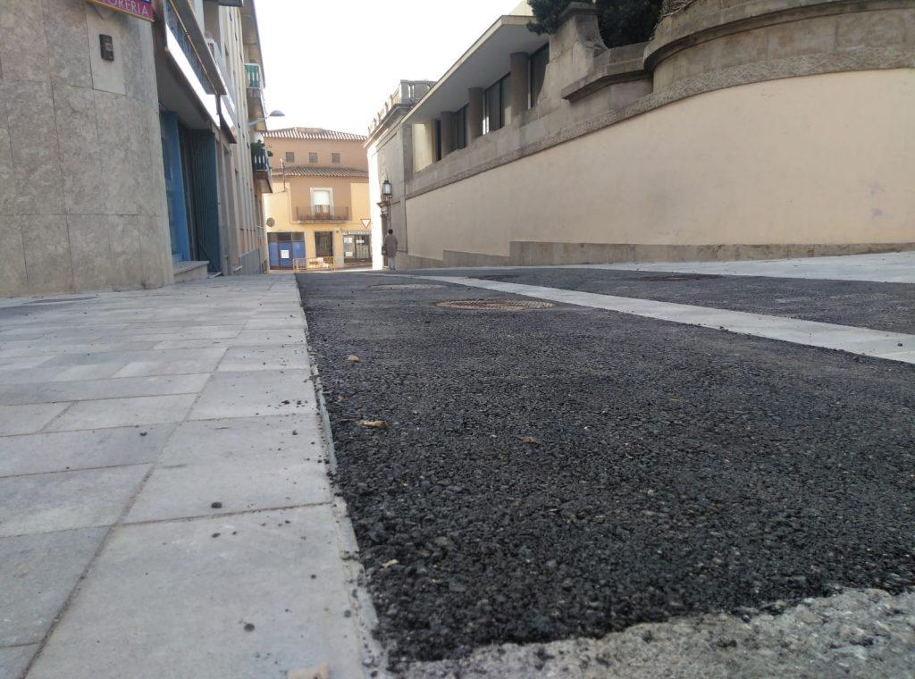 Els carrers cervantes i progrés enllestits 2