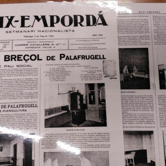 L'Escola Bressol de Palafrugell 1920