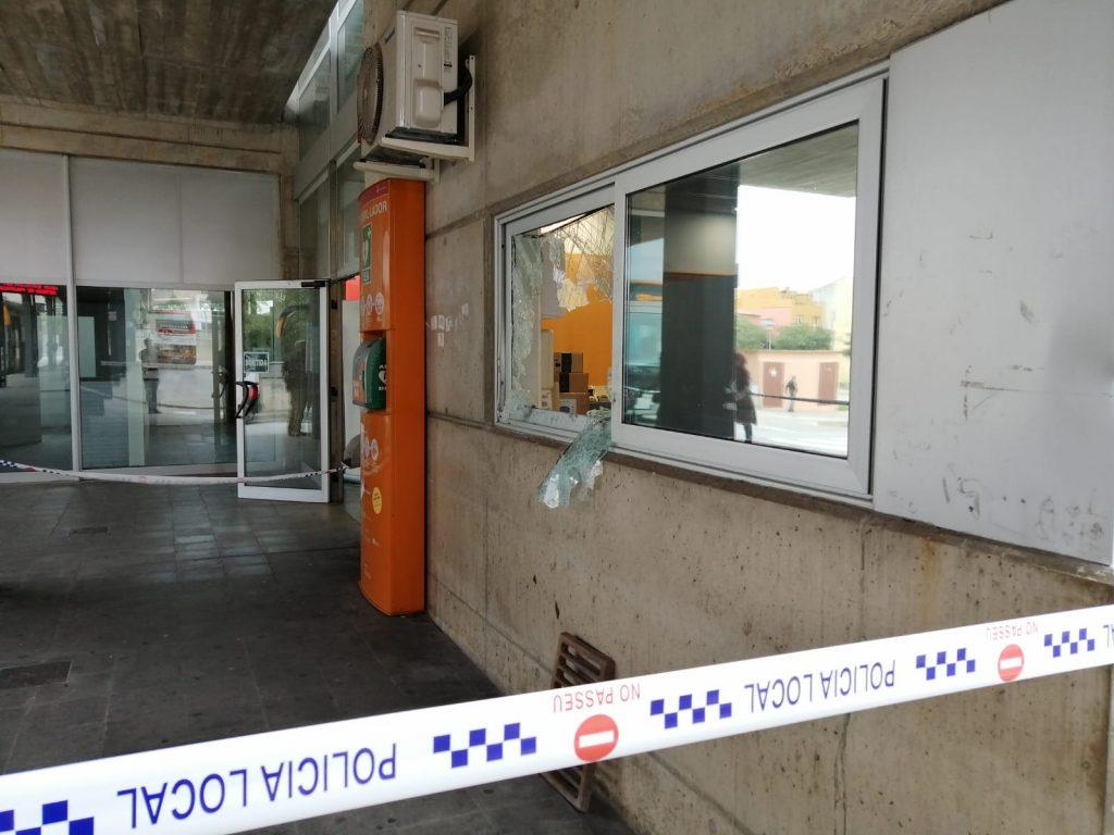 Robatori a l'estació d'autobusos de la Sarfa
