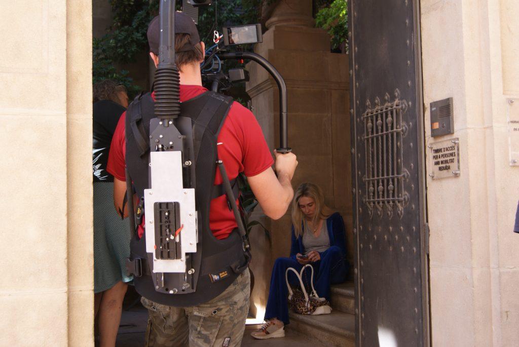 Palafrugell ha acollit el rodatge de la sèrie Red Lights