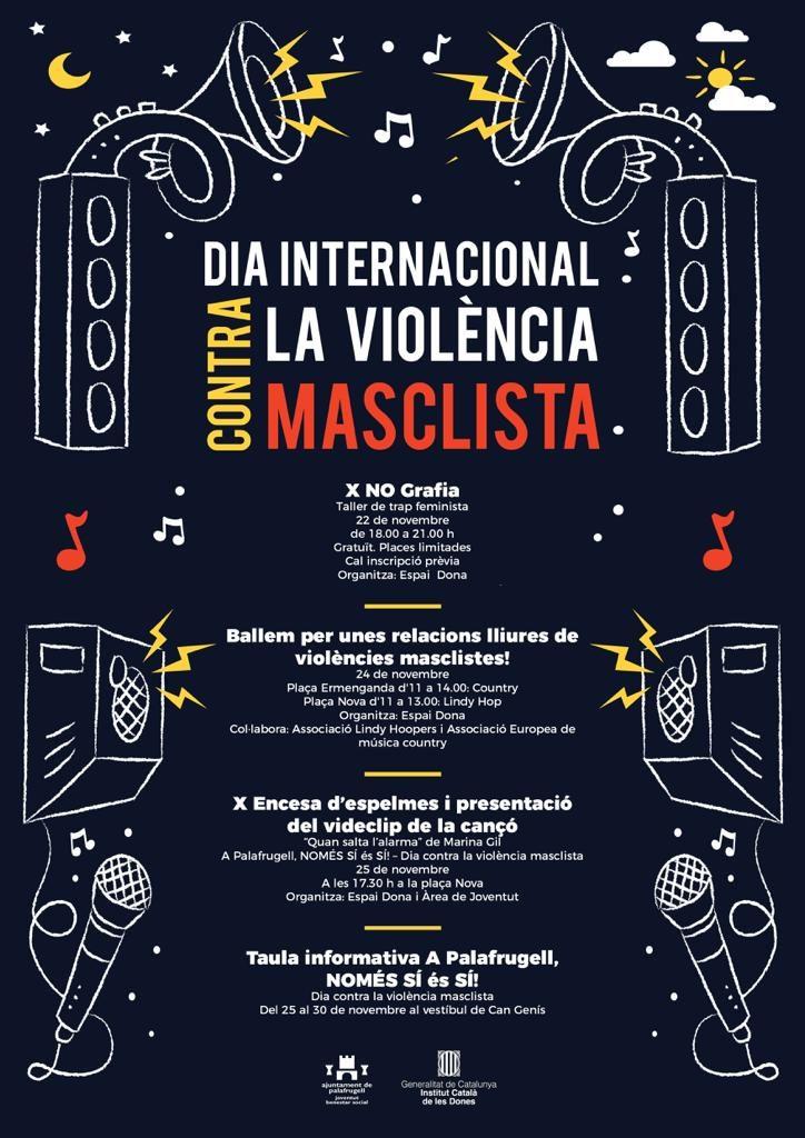actes a Palafrugell contra la violència masclista