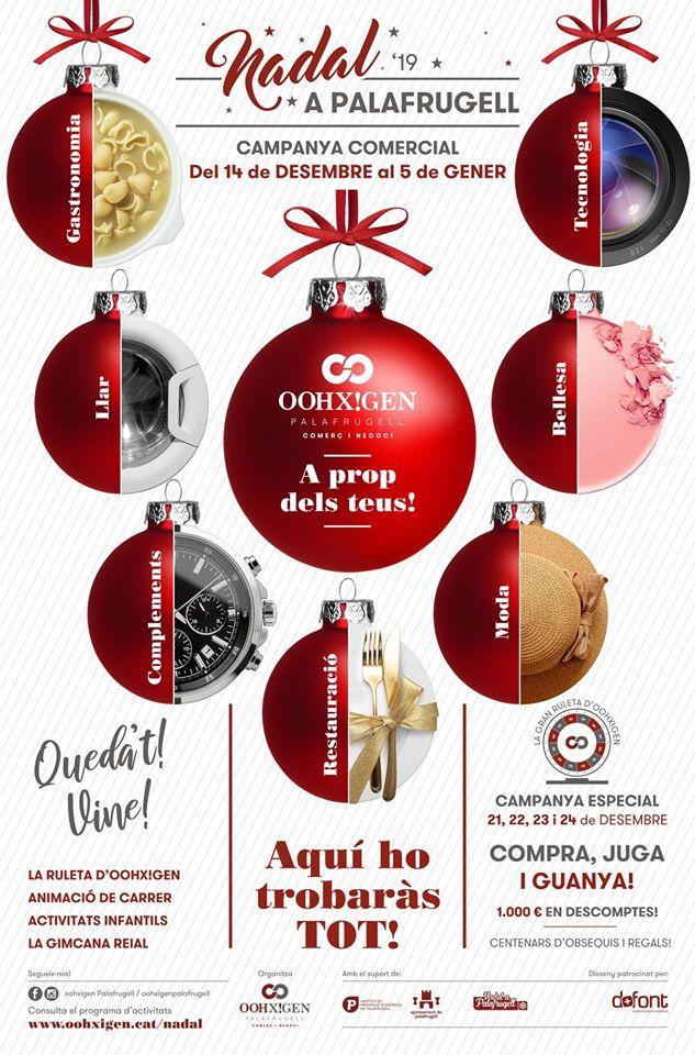 Campanya comercial de Nadal a Palafrugell