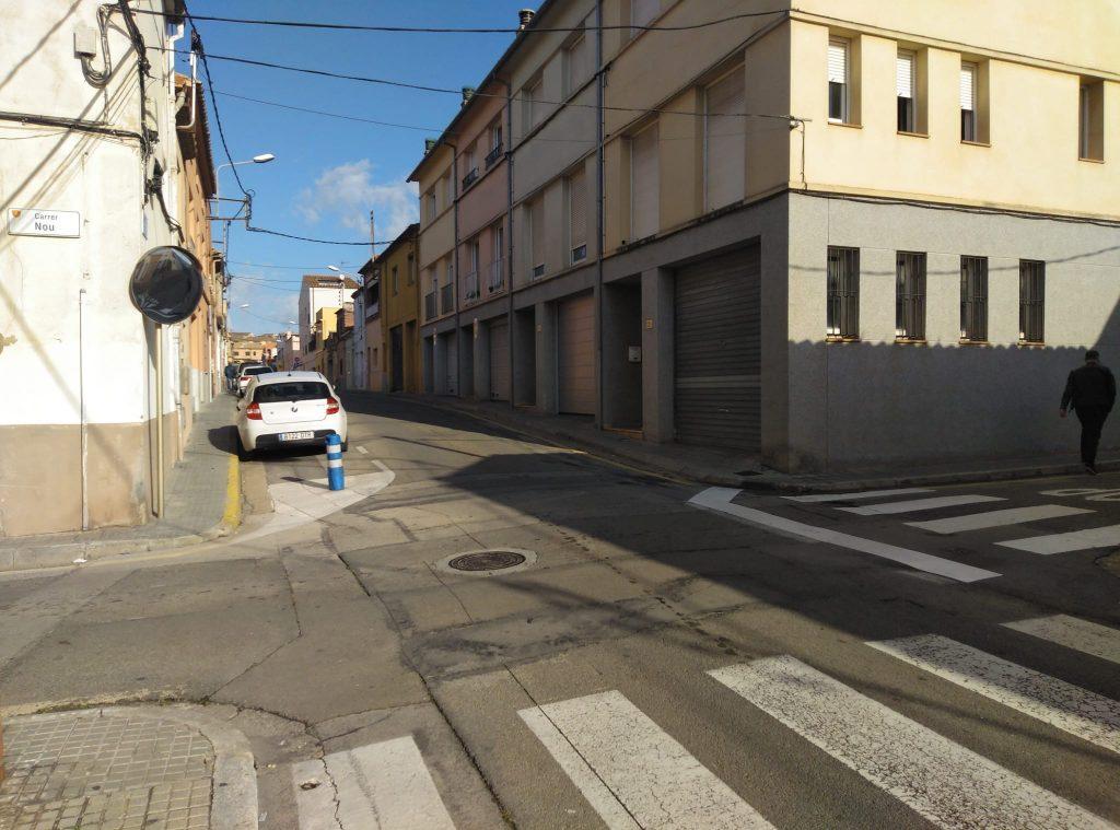 Problemes de mobilitat als carrers Bailén i Nou