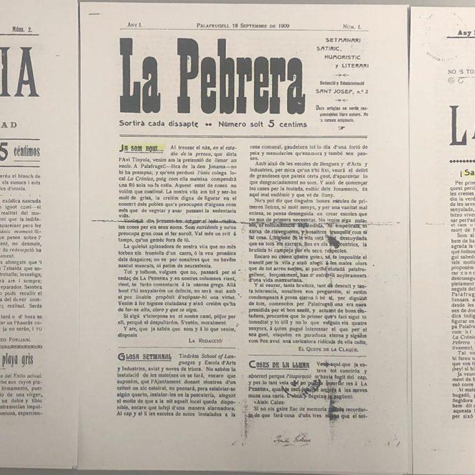 La Premsa Palafrugellenca de 1909