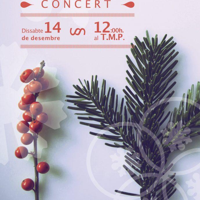 Arbre de nadal adornat d'interludis musicals al Teatre Municipal