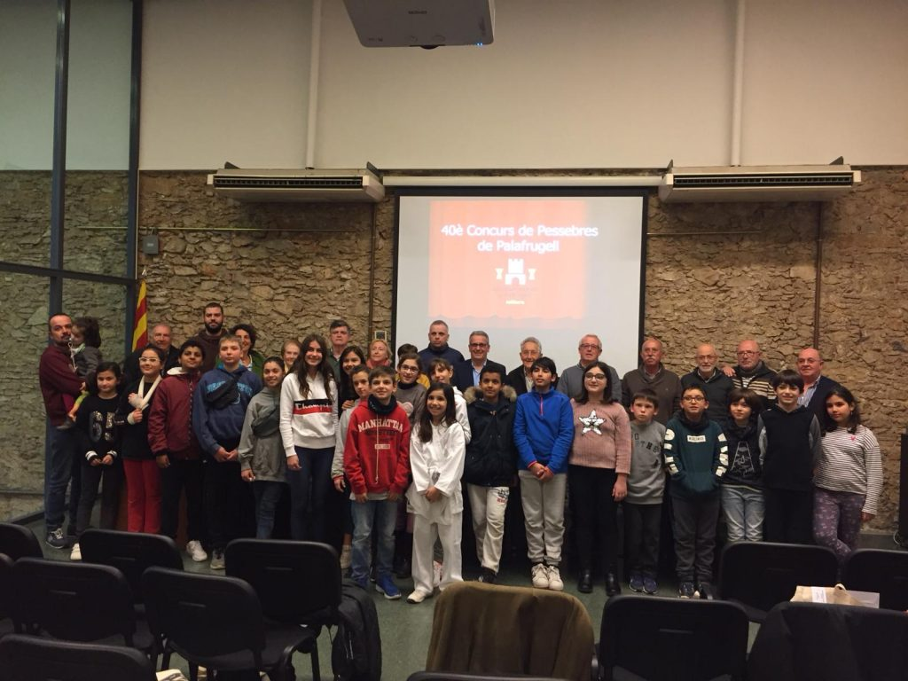 Premis del 40è concurs de pessebres de Palafrugell