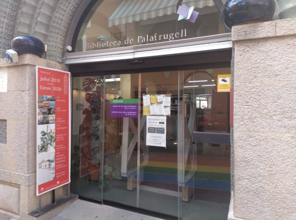 La Biblioteca de Palafrugell registra 300 visites diàries