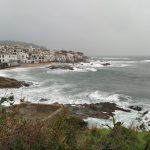 Palafrugell en alerta groga pel temporal Glòria