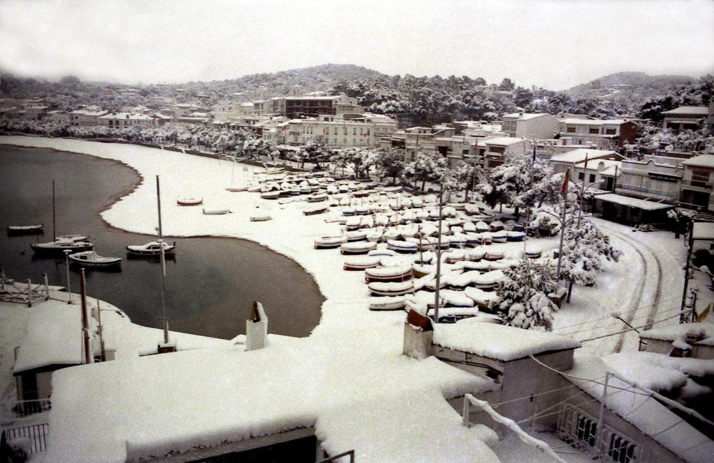 Fedorada de gener del 1985 Llafranc Lluís Maimí