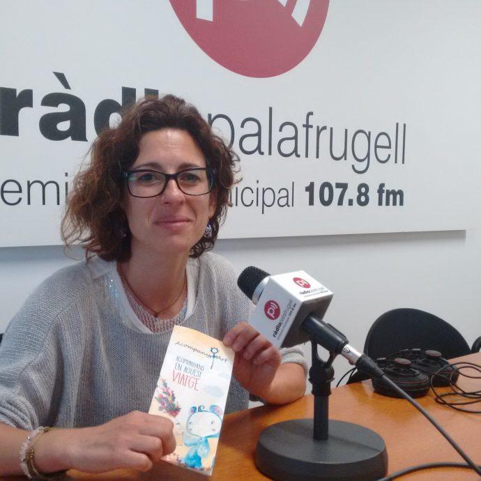 Isabel Muñoz, fundadora d'AcompanyArt