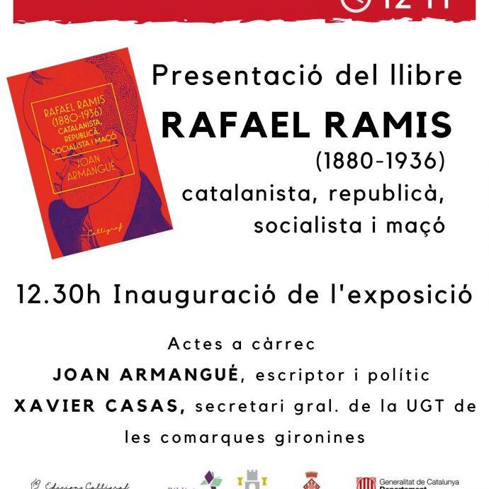 Joan Armangué presenta biografia sobre Rafael Ramis