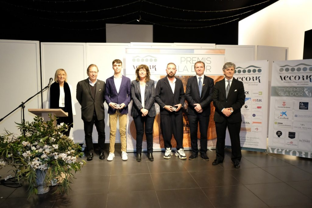 Premis Gla d'Or Sostenibilitat AECORK