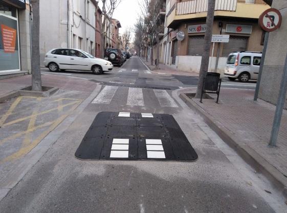 Els carrers Ample i Vilar més segurs
