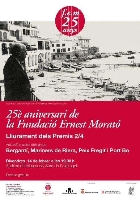 Balanç positiu dels 25 anys de la Fundació Ernest Morató