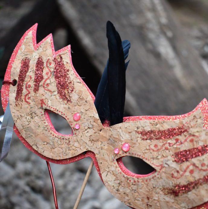 màscares de suro per carnaval