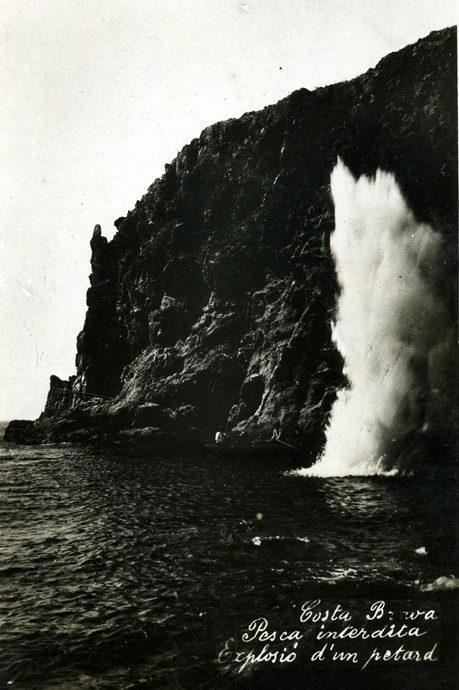 Pesca amb dinamita a finals del XIX