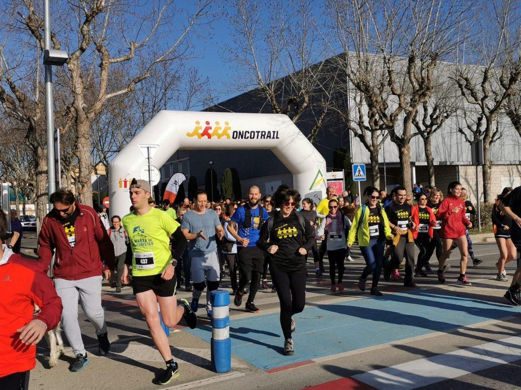 Rècord de participació a la 6a Run4Cancer