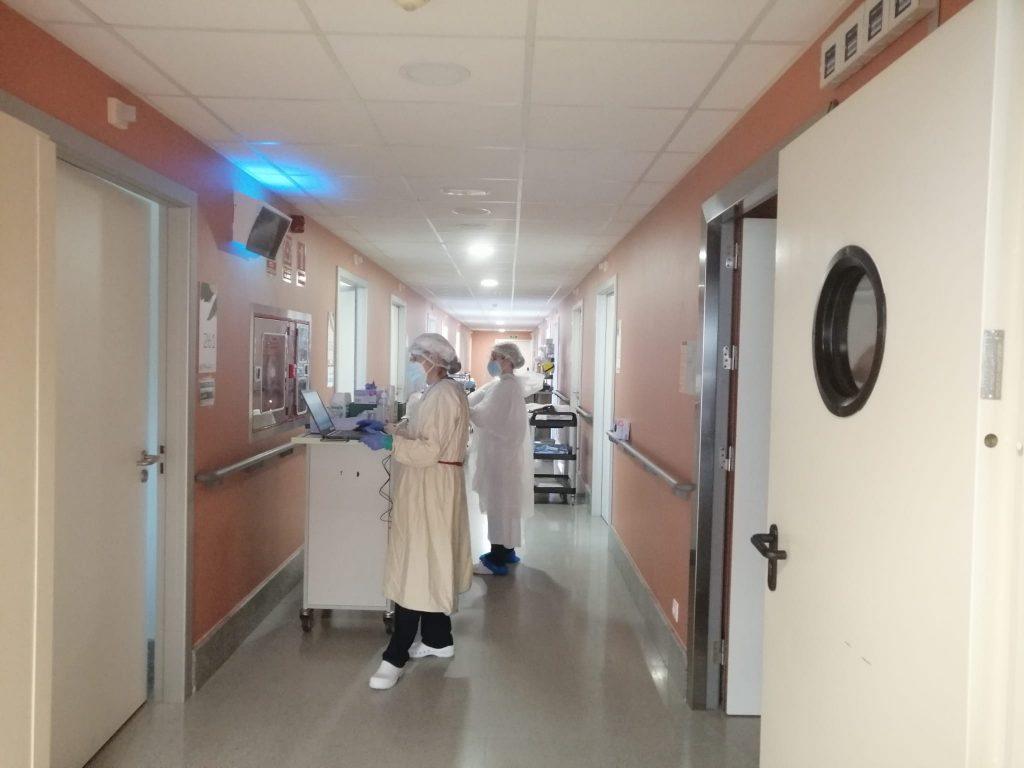 Primera alta per coronavirus a la residència de Palafrugell