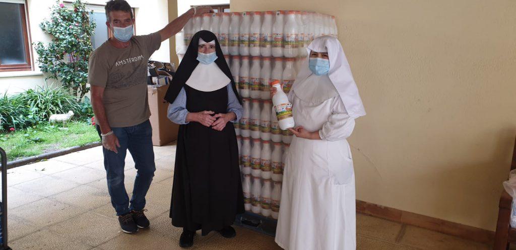 Donació de 675 litres de llet a Palafrugell