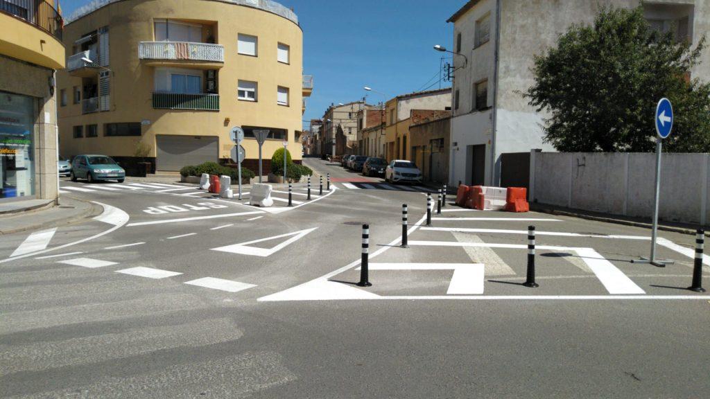 Nova mobilitat carrer Bailén de Palafrugell