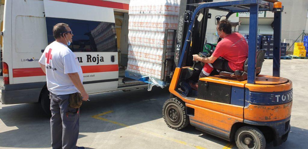 Creu Roja Palafrugell rep 1.620 litres de llet