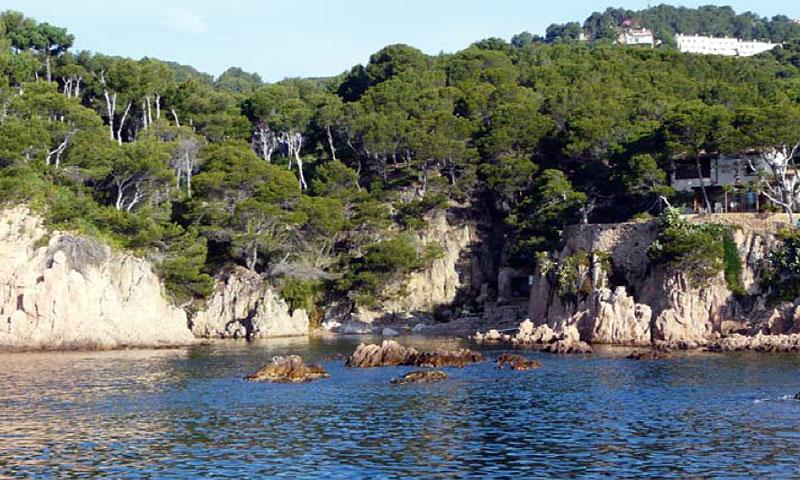 guia per conèixer el patrimoni geològic del litoral de Tamariu