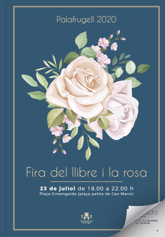 Palafrugell celebra la Fira del Llibre i la Rosa