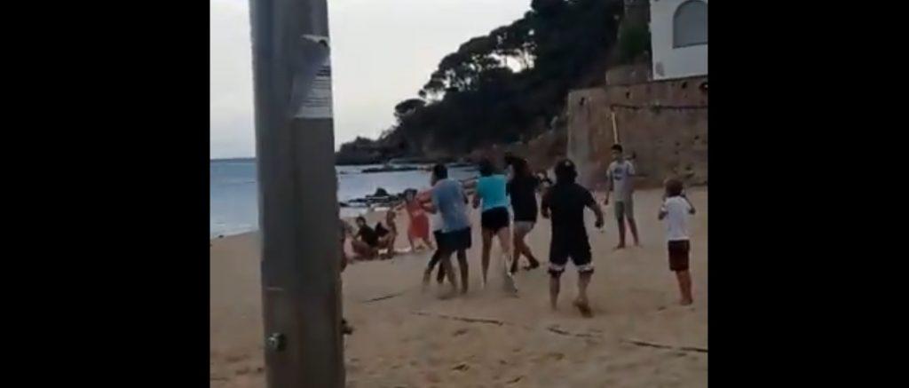 La Policia Local de Palafrugell investiga una baralla a Llafranc