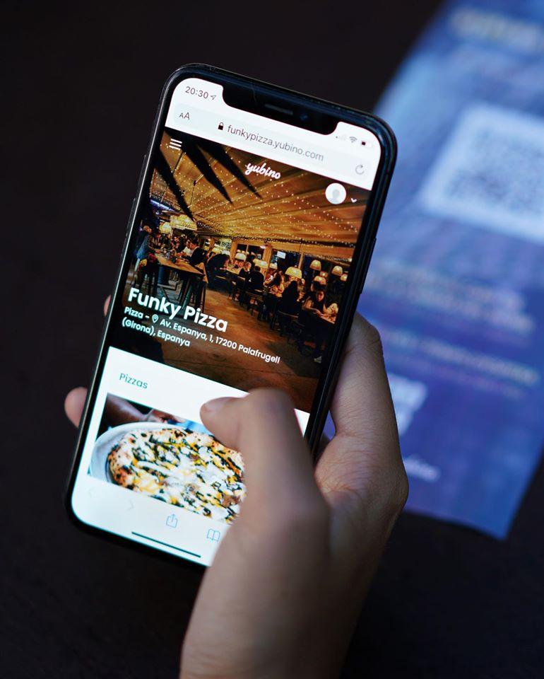 Funky Pizza de Palafrugell impulsa els cambrers virtuals