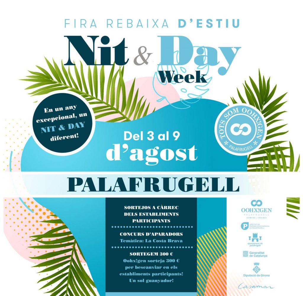 Comença la nit and day week de Palafrugell