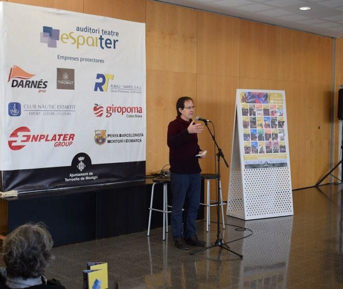 Antoni Roviras presenta la nova programació de l'Espai Ter