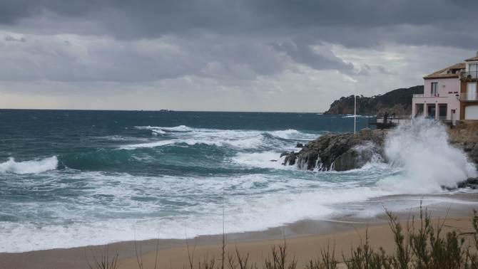 Mar remoguda a Calella de Palafrugell (Margarida Bonet)