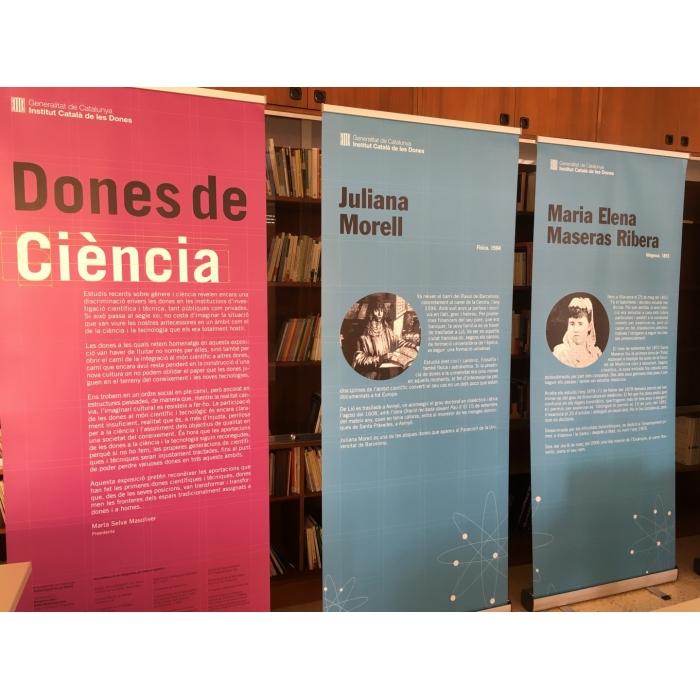 Exposició dones de ciència