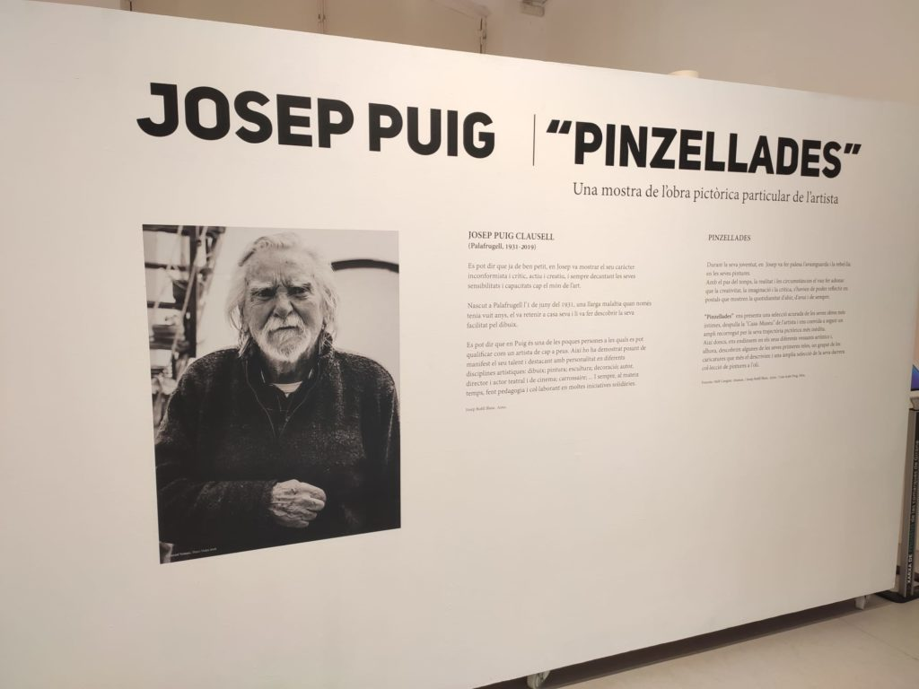 Pinzellades un homenatge a la pintura de Josep Puig